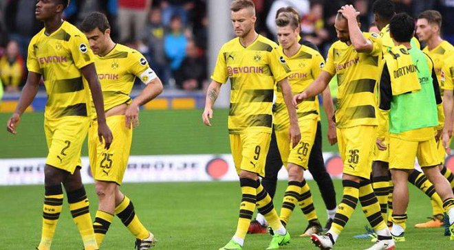 Боруссия дортмунд перед матчем
