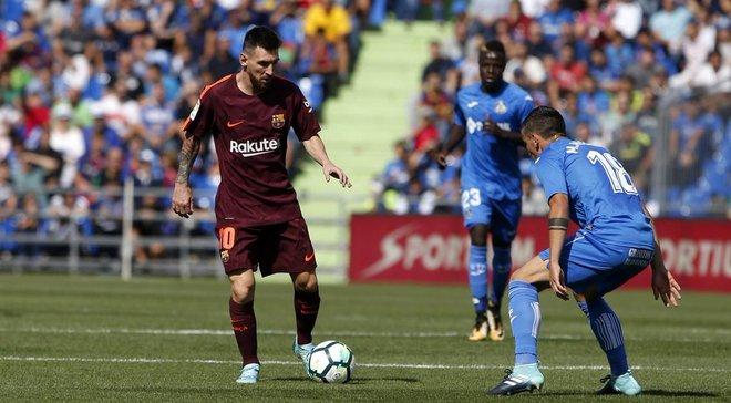 Барселона здобуває вольову перемогу над Хетафе