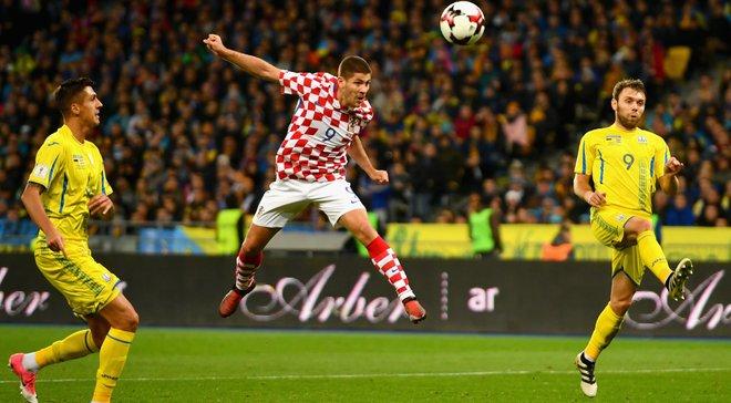 Україна поступилась Хорватії та не вийшла з групи відбору до ЧС-2018