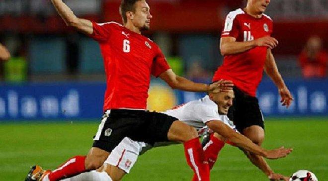 Австрия – Сербия – 3:2 – Видео голов и обзор матча
