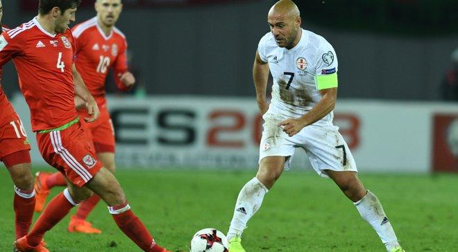 Грузия – Уэльс – 0:1 – Видео гола и обзор матча