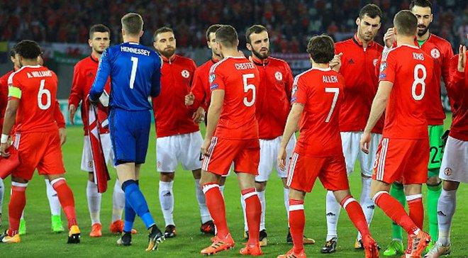 Федерація футболу Грузії вибачилась перед Уельсом за конфуз під час виконання гімну