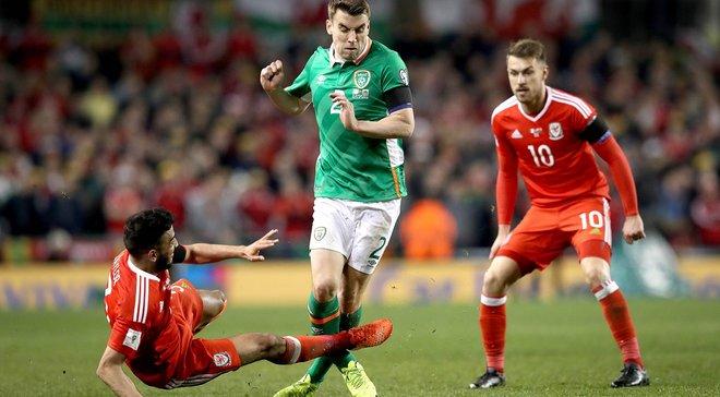 Уэльс — Ирландия — 0:1 — Видео гола и обзор матча