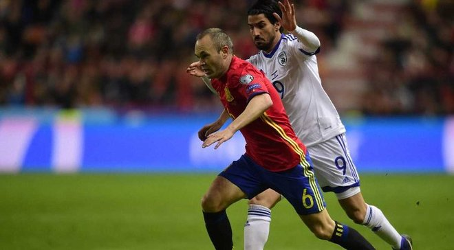 Израиль — Испания — 0:1 — Видео гола и обзор матча