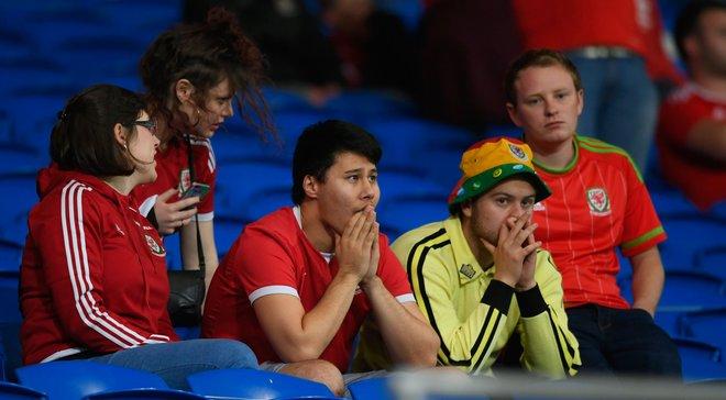 Фанаты и игроки сборной Уэльса акапельно исполнили гимн своей страны перед матчем с Ирландией