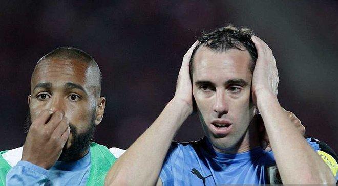 Годін організував два абсурдні автоголи у ворота збірної Уругваю в матчі з Болівією