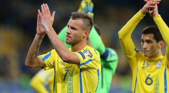 Украина узнала всех потенциальных соперников в группе Лиги Наций