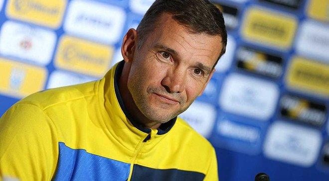 Шевченко остается тренером сборной Украины