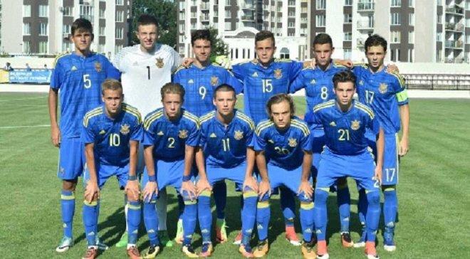 Збірна України U-17 розтрощила Азербайджан у кваліфікації Євро-2018