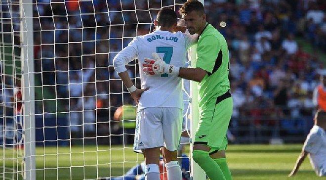 Роналду совершил эпический промах в матче против Хетафе