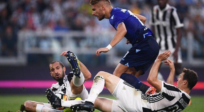 Лацио в драматичном матче победил Ювентус благодаря дублю Иммобиле