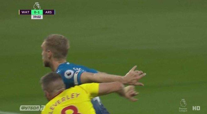 Уотфорд – Арсенал: гол Пер Мертезакера