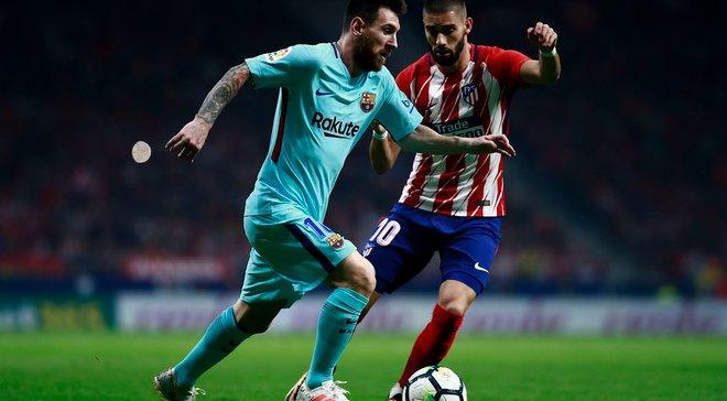 Топ-новости: Барселона вырвала ничью с Атлетико, поражения Боруссии Д, Ювентуса и Челси