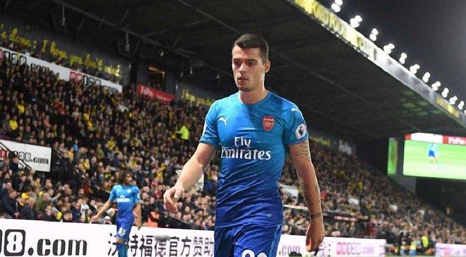 Джака з байдужістю спостерігав, як Уотфорд забивав переможний гол у ворота Арсенала