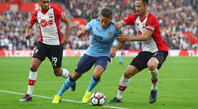 Саутгемптон – Ньюкасл – 2:2 – Видео голов и обзор матча