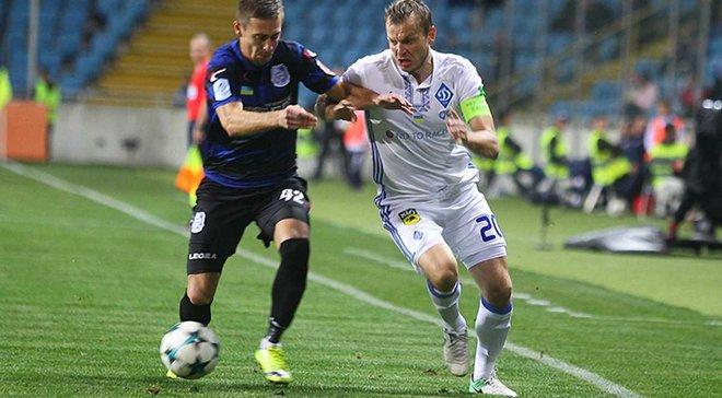 Чорноморець сенсаційно переміг Динамо в Одесі