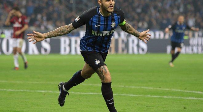 Интер – Милан: Икарди отпраздновал хет-трик а-ля Месси в матче с Реалом