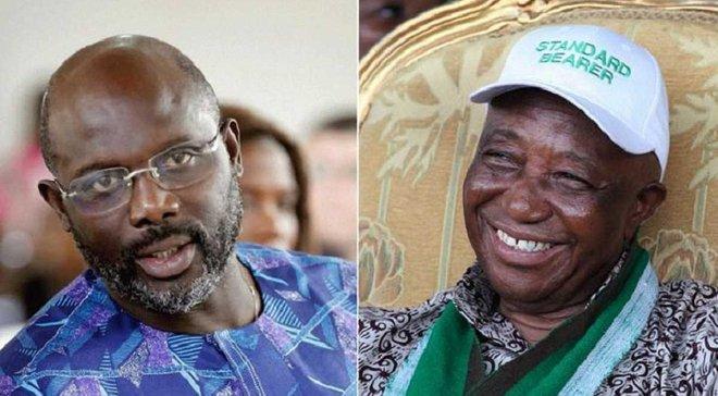 Веа лидирует на выборах президента Либерии, но для определения победителя понадобится 2-й тур