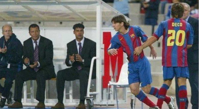 Месси 13 лет назад дебютировал за Барселону в Примере