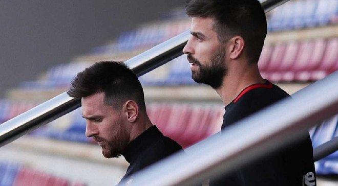 Месси и Пике поссорились из-за политики во время матча Атлетико – Барселона, – журналист