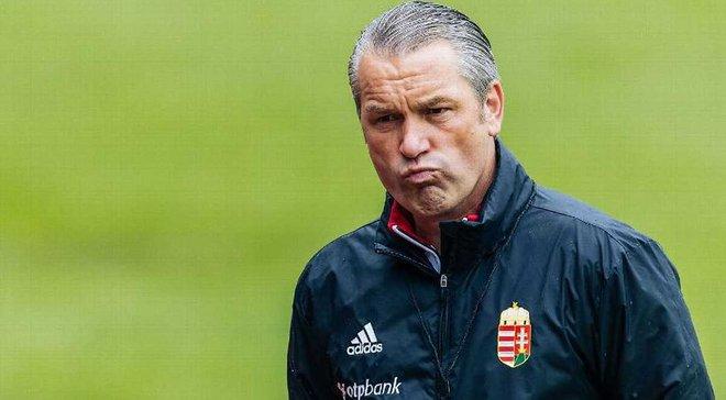 Венгрия уволила Шторка, который выводил сборную на Евро-2016