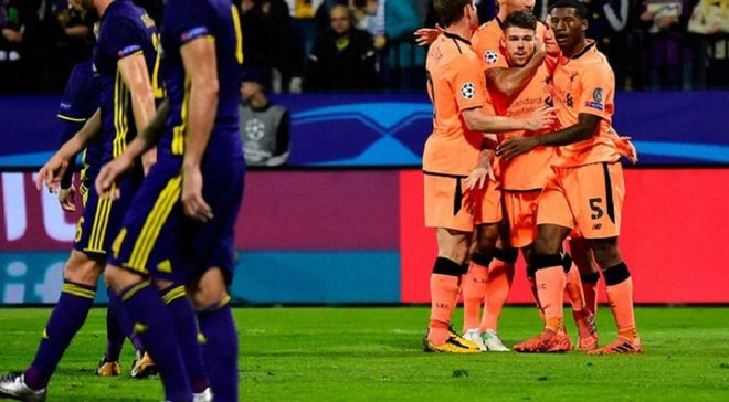 Лига чемпионов: Ливерпуль уничтожил Марибор, Спартак – Севилью, Монако дома проиграл Бешикташу