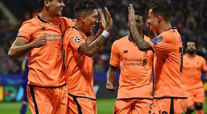 Победа Ливерпуля над Марибором стала крупнейшей для английских команд в еврокубках на выезде