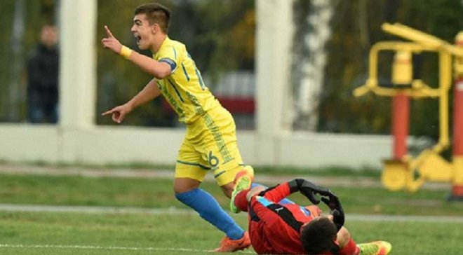 Збірна України U-16 в товариській грі зіграла внічию з Італією