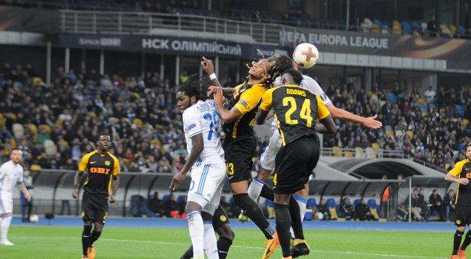 Динамо та Янг Бойз розписали результативну нічию у Києві