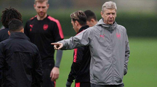 Санчес відмовився тиснути руку Венгеру на тренуванні Арсенала
