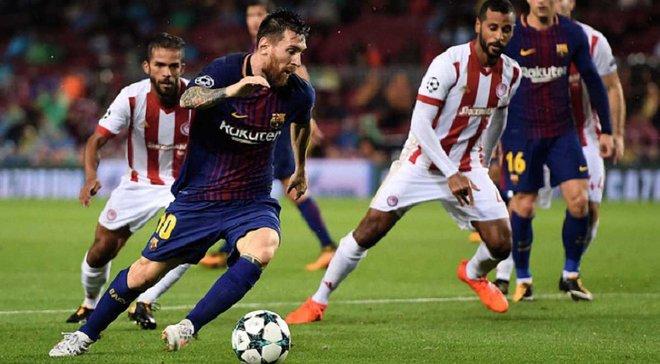 Ліга чемпіонів: Барселона в меншості перемогла Олімпіакос, Ювентус здобув перемогу над Спортінгом на останніх хвилинах