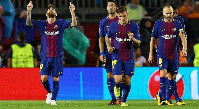 Барселона – Олимпиакос – 3: 1 – Видео голов и обзор матча