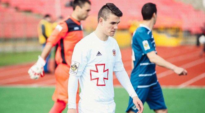 Українець Деда забив гол за Карабах у юнацькій Лізі чемпіонів