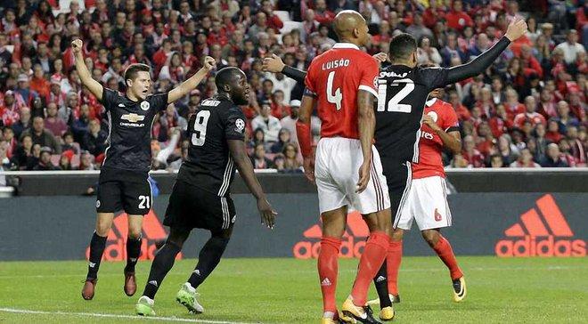 Бенфика – Манчестер Юнайтед – 0:1 – Видео голов и обзор матча