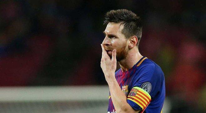 Мессі забив 100-й гол у єврокубках після того, як прийняв таблетку прямо на полі