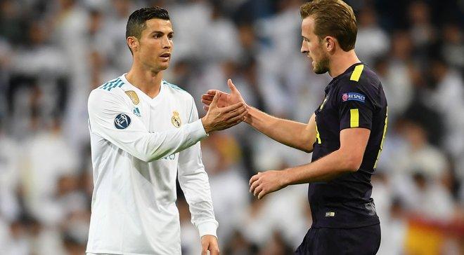 Кейн: Після матчу проти Реала я попросив футболку у Роналду