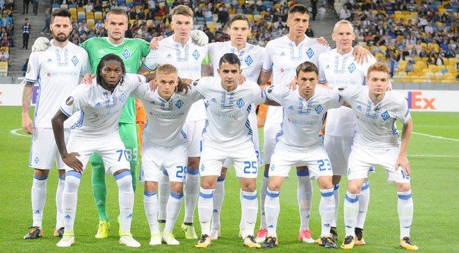 Динамо – Янг Бойз: стартові склади команд