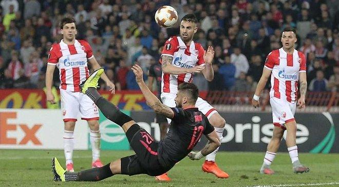 Црвена Звезда – Арсенал – 0:1 – Видео гола и обзор матча