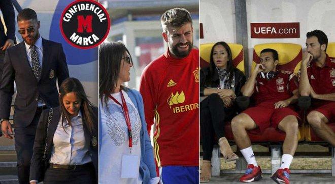 Рамос, Пике и Бускетс угрожают покинуть сборную Испании из-за увольнения маркетолога, – Marca