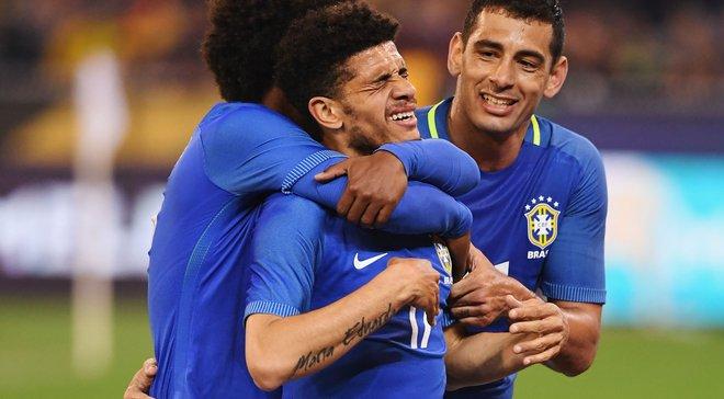 Тайсон викликаний у збірну Бразилії на товариські матчі проти Японії та Англії