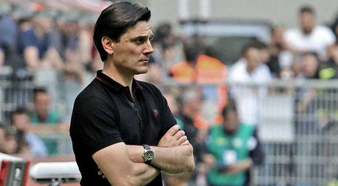 Соуза – главный фаворит на пост наставника Милана в случае отставки Монтеллы