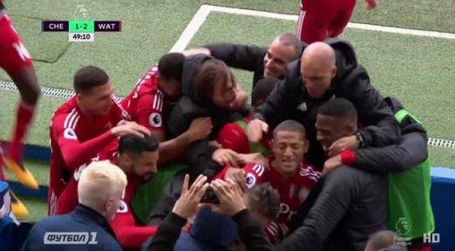 Уотфорд – Челси: гол Перейры