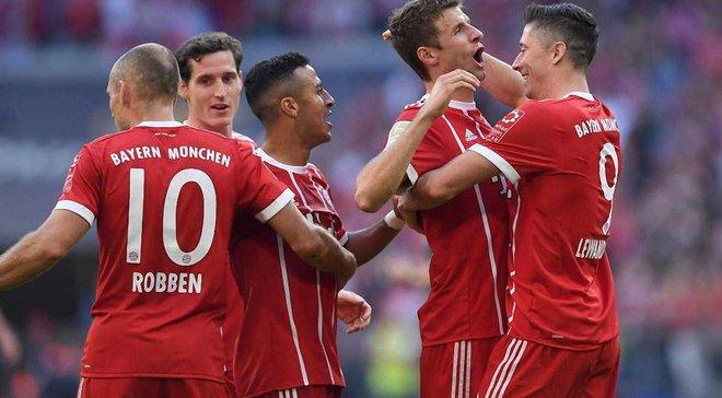 Бавария получила рекордный доход за сезон 2016/17