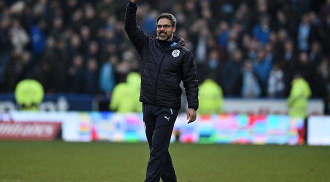 Наставник Хаддерсфилда Вагнер эффектно отметил с фанатами победу над Манчестер Юнайтед