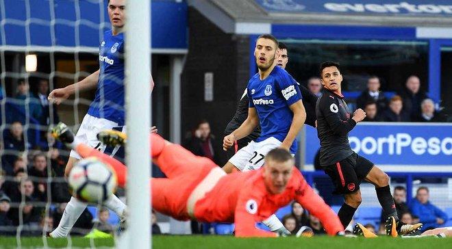 Эвертон – Арсенал – 2:5 – Видео голов и обзор матча