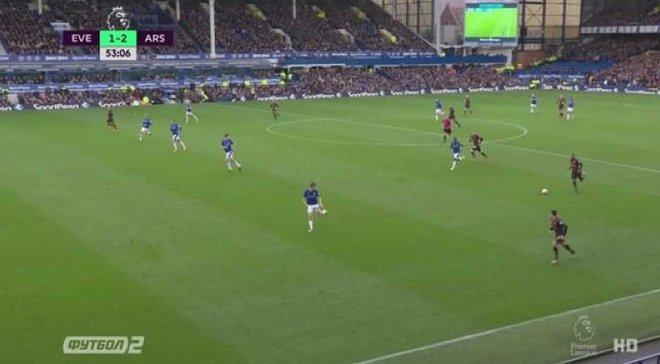 Евертон – Арсенал: гол Озіла
