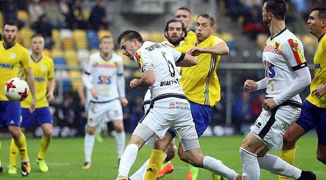 Український півзахисник Романчук забив 3-й гол за Яґеллонію у сезоні