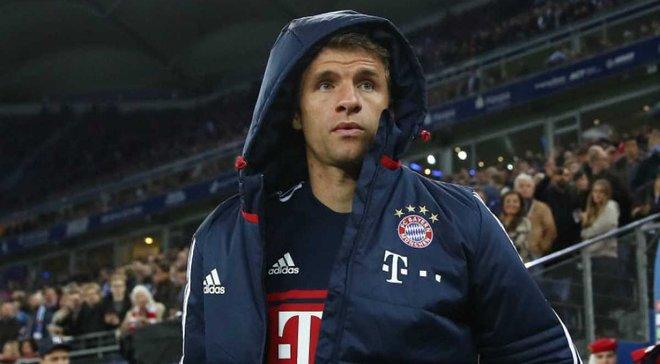 Мюллєр не зіграє за Баварію впродовж 6 тижнів