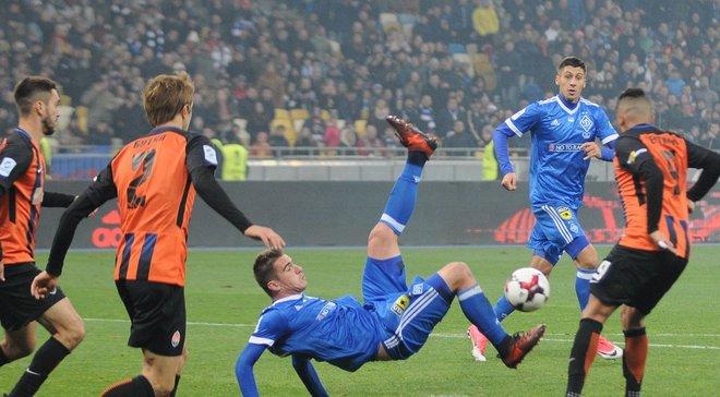 Динамо – Шахтар: як м'яч влучив у руку Бутка
