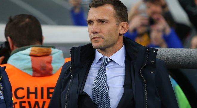 Шевченко вызвал шесть легионеров на товарищеский матч против Словакии